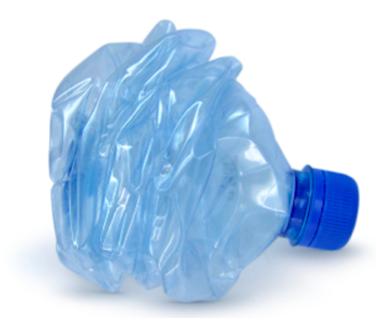 bottiglia di plastica con Ftalati e Bisfenolo A