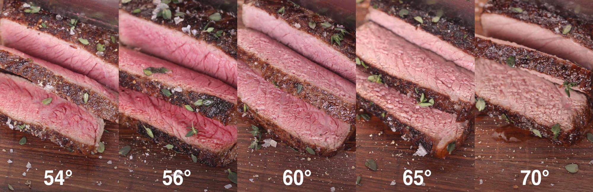 Cuocere in sottovuoto: diveri tipi di cottura a seconda della temperatura