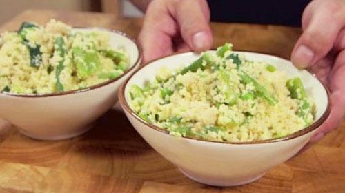 Cous Cous al Pesto Vegano